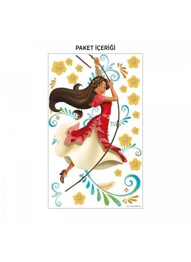 Disney Prenses Elena 95X75 Cm Duvar Sticker Renkli
